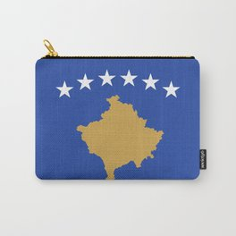 Kosovo Flag Carry-All Pouch