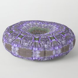 Lavender Kaleidoscope Floor Pillow