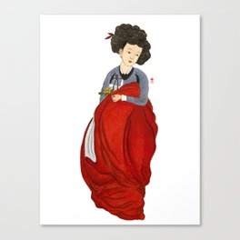 Mi-in-do 1800s_Solnekim Canvas Print