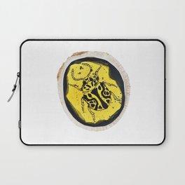 Beetle Ink Wood Design Laptop Sleeve