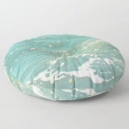 The Sea Delights Our Very Soul Floor Pillow