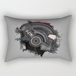 Beloved Helmet Rectangular Pillow