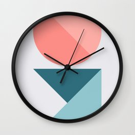 Geometric Form No.1 Wall Clock