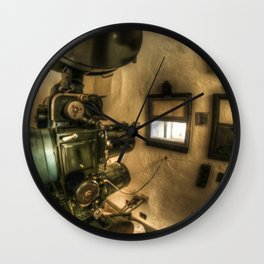 The projector  Wall Clock