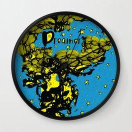 Dreamer girl Wall Clock