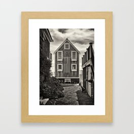 Provincetown, House Framed Art Print