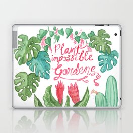 Plant Impossible Gardens Laptop & iPad Skin