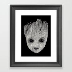 Baby Guardian Framed Art Print