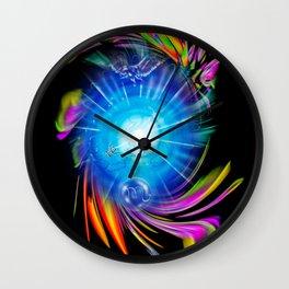 Zodiac sign Skorpio Happy Birthday Wall Clock