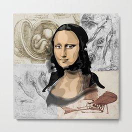 Monna Lisa Metal Print
