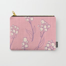 Violet flower Carry-All Pouch