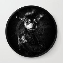 Bad Chihuahua Wall Clock