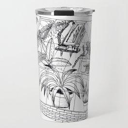 transparent greenhouse Travel Mug
