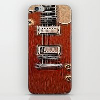 the wire iPhone & iPod Skins featuring Live Wire by Eric Rasmussen