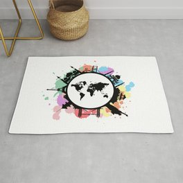 It's travel time Rug
