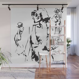 ALL SHAPES & SIZES Collection Figure 04 Wall Mural