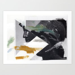 Untitled (Painted Composition 2) Art Print