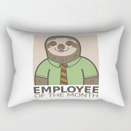 Employee of the Month Rectangular Pillow
