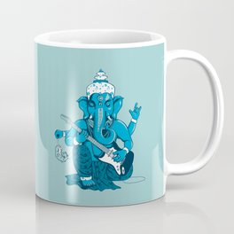 Ganesha rocks ! (v3) Coffee Mug