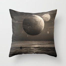 Planetary Waves Throw Pillow