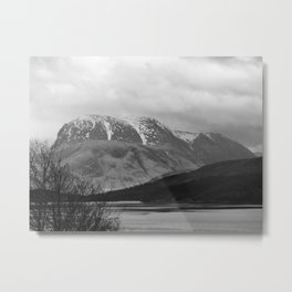 Ben Nevis Scottish Highlands Metal Print