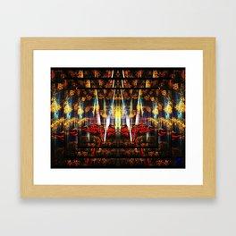 Fire Thoughts Framed Art Print