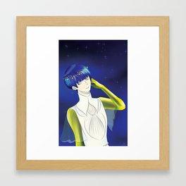 Moon Phos Framed Art Print