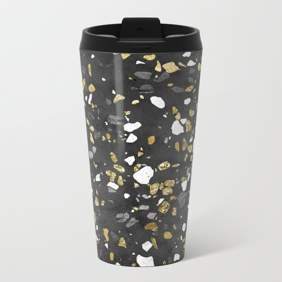 Glitter and Grit 2 Metal Travel Mug