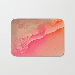 Pink Navel Bath Mat