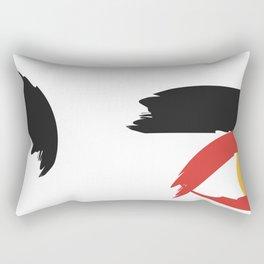 Eyes of the soul. Rectangular Pillow