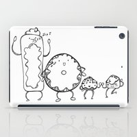 donuts iPad Cases featuring Donuts by Monique Turchan