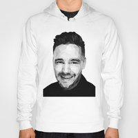 liam payne Hoodies featuring Liam Payne - One Direction by jrrrdan