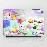 digimon iPad Cases featuring Baby Monsters by Minty Cocoa