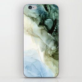 Land and Sky Abstract Landscape Painting iPhone Skin