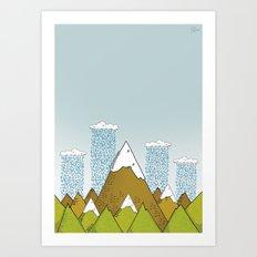 Landscapes - Mountains Art Print