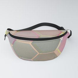 Layered Honeycomb Fanny Pack