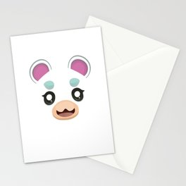 Animal Crossing Flurry Stationery Cards