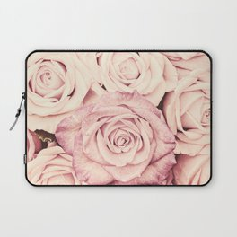 Some people grumble I Floral rose roses flowers pink Laptop Sleeve