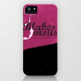 Blake's Mouse iPhone Case