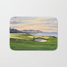 Pebble Beach Golf Course 9th Green Bath Mat