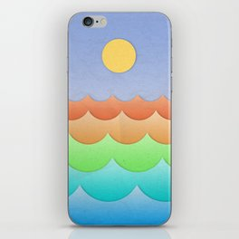 The Sea In My Dreams iPhone Skin