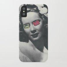 Psychedelic glasses II iPhone X Slim Case