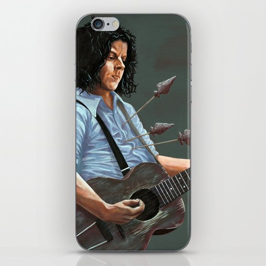 blue blood blues iPhone & iPod Skin