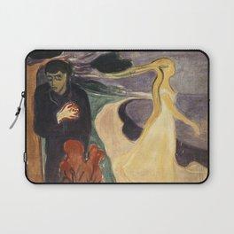 Separation by Edvard Munch Laptop Sleeve