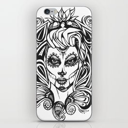 Day of the Dead India iPhone Skin