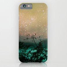 Night Sky Flowers Slim Case iPhone 6