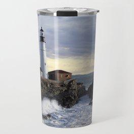 Portland Head Lighthouse Maine Travel Mug