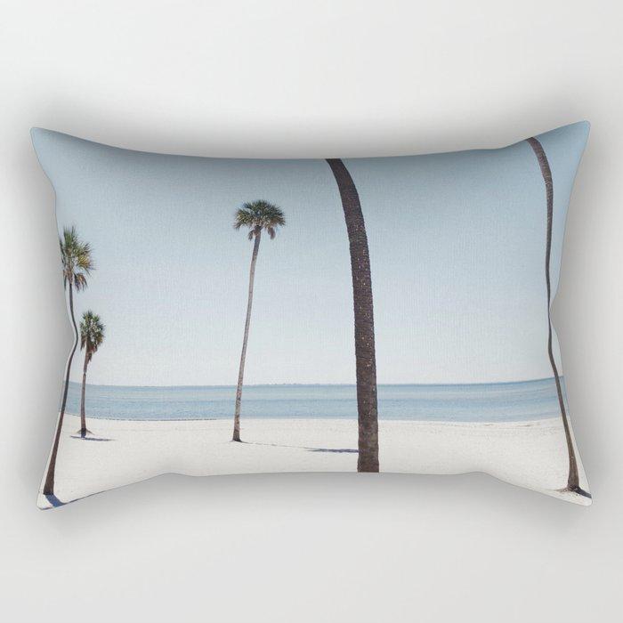 Palm trees 7 Rectangular Pillow