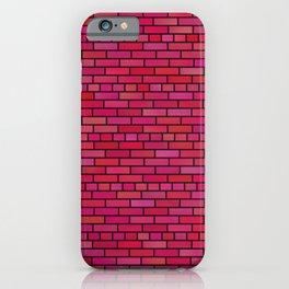 Pink Blocks iPhone Case