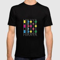 Hikaya-logo Mens Fitted Tee SMALL Black
